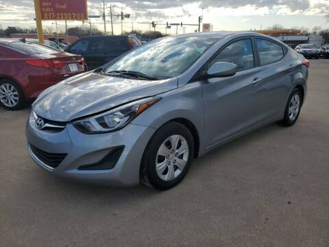 2016 Hyundai Elantra for sale at Nile Auto in Fort Worth TX