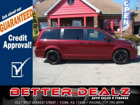 2019 Dodge Grand Caravan for sale at Better Dealz Auto Sales & Finance in York PA