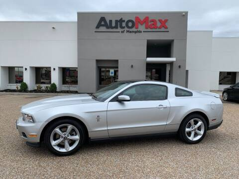 2011 Ford Mustang for sale at AutoMax of Memphis - V Brothers in Memphis TN
