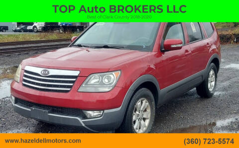 2009 Kia Borrego for sale at TOP Auto BROKERS LLC in Vancouver WA