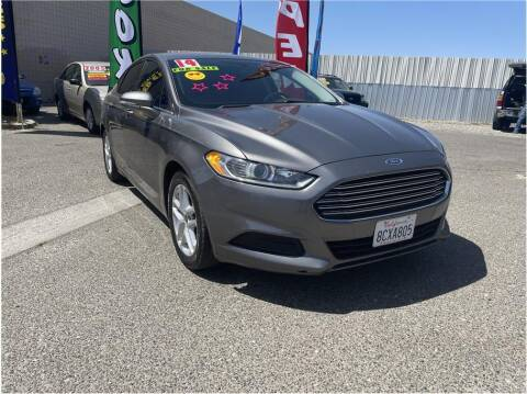 2014 Ford Fusion for sale at D & I Auto Sales in Modesto CA
