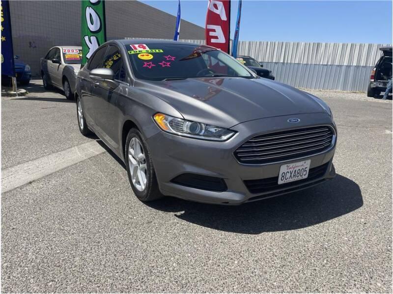 2014 Ford Fusion for sale at D & I Auto Sales in Modesto CA