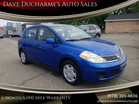 2008 Nissan Versa for sale at Dave Ducharme's Auto Sales in Lowell MA