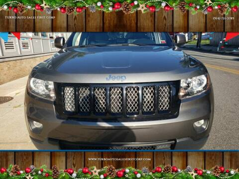 2012 Jeep Grand Cherokee for sale at TURBO Auto Sales First Corp in Yonkers NY
