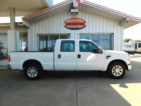 2008 Ford F-250 Super Duty for sale at Motorsports Unlimited in McAlester OK