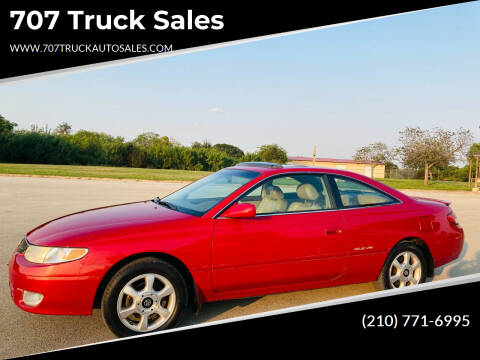 1999 Toyota Camry Solara for sale at 707 Truck Sales in San Antonio TX