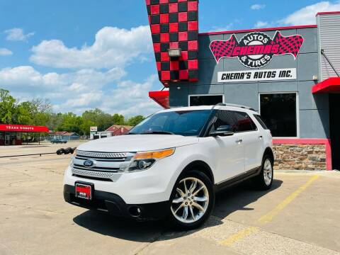 2013 Ford Explorer for sale at Chema's Autos & Tires in Tyler TX