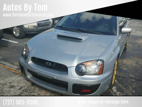 2005 Subaru Impreza for sale at Autos by Tom in Largo FL