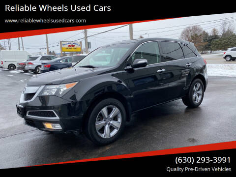 2013 Acura MDX for sale at Reliable Wheels Used Cars in West Chicago IL