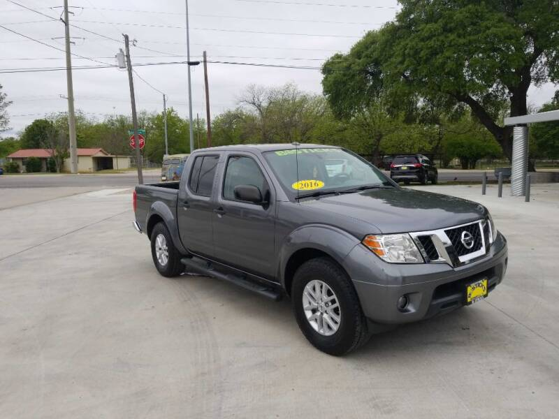 2016 Nissan Frontier for sale at Bostick's Auto & Truck Sales in Brownwood TX