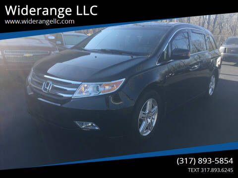 2011 Honda Odyssey for sale at Widerange LLC in Greenwood IN