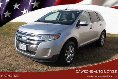 2012 Ford Edge for sale at Dawsons Auto & Cycle in Glen Burnie MD