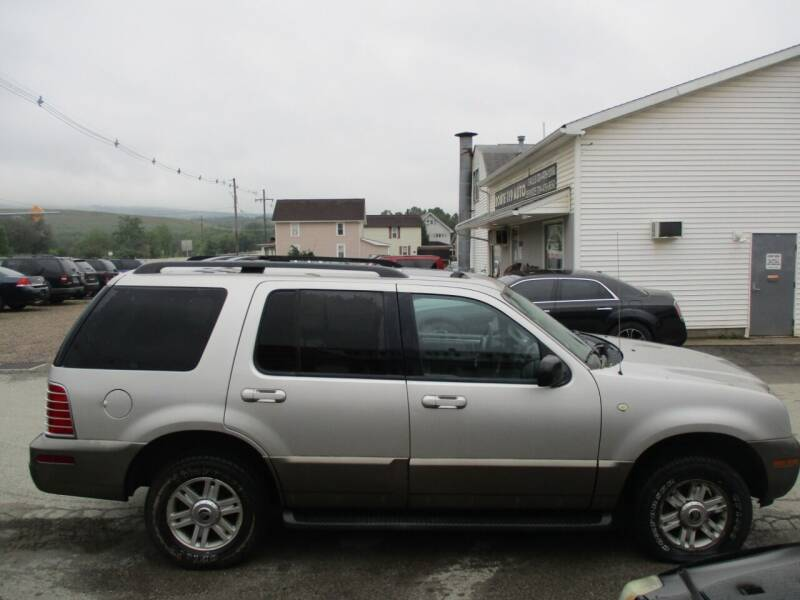 2004 Mercury Mountaineer for sale at ROUTE 119 AUTO SALES & SVC in Homer City PA