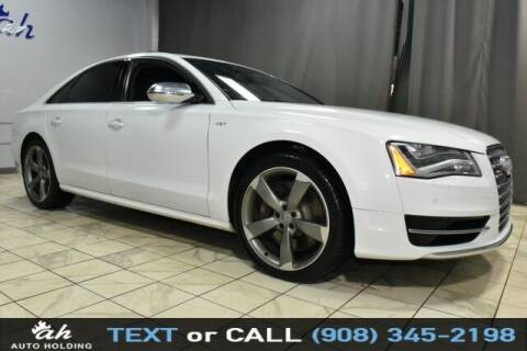 2014 Audi S8 for sale at AUTO HOLDING in Hillside NJ