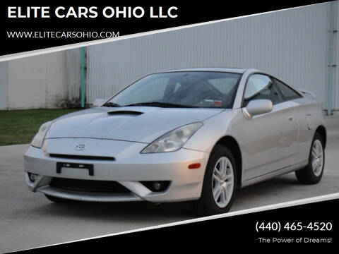 2004 Toyota Celica for sale at ELITE CARS OHIO LLC in Solon OH