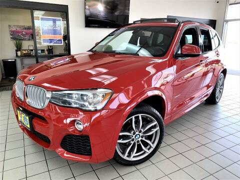 2017 BMW X3 for sale at SAINT CHARLES MOTORCARS in Saint Charles IL