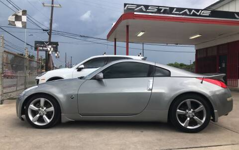2006 Nissan 350Z for sale at FAST LANE AUTO SALES in San Antonio TX