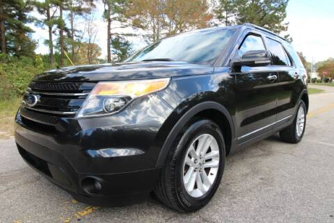 2013 Ford Explorer for sale at Oak City Motors in Garner NC