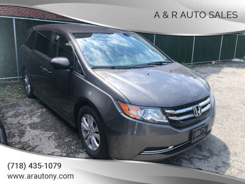 2017 Honda Odyssey for sale at A & R Auto Sales in Brooklyn NY