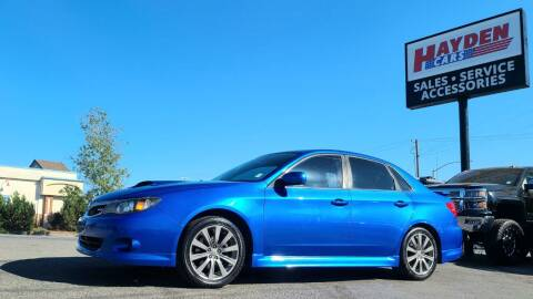 2010 Subaru Impreza for sale at Hayden Cars in Coeur D Alene ID