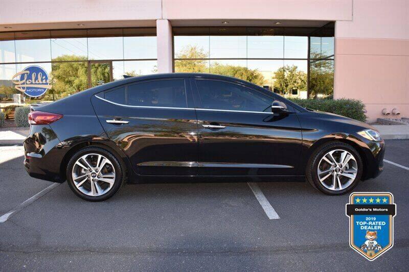 2017 Hyundai Elantra for sale at GOLDIES MOTORS in Phoenix AZ