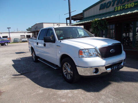 2006 Ford F-150 for sale at MOTION TREND AUTO SALES in Tomball TX