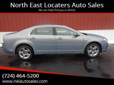 2008 Chevrolet Malibu for sale at North East Locaters Auto Sales in Indiana PA