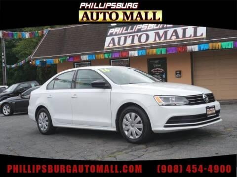 2016 Volkswagen Jetta for sale at Phillipsburg Auto Mall in Phillipsburg NJ