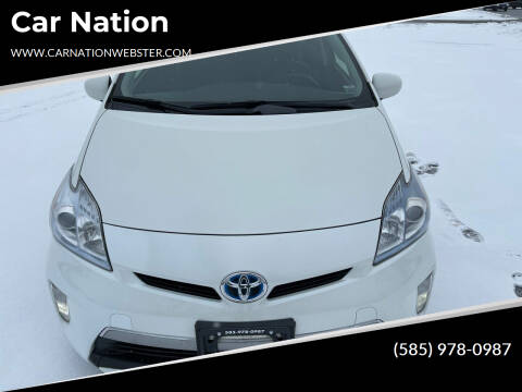2014 Toyota Prius Plug-in Hybrid for sale at Car Nation in Webster NY