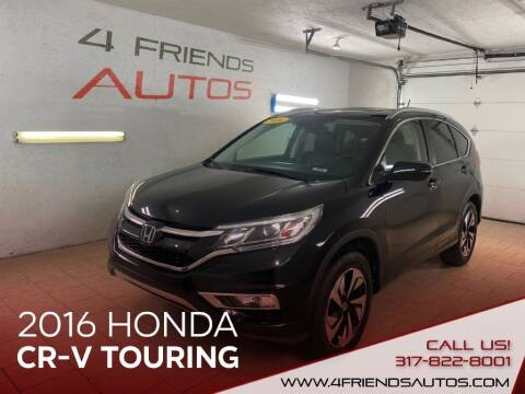 2016 Honda CR-V for sale at 4 Friends Auto Sales LLC in Indianapolis IN