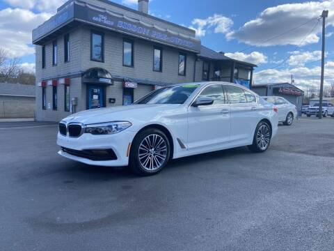 2018 BMW 5 Series for sale at Sisson Pre-Owned in Uniontown PA