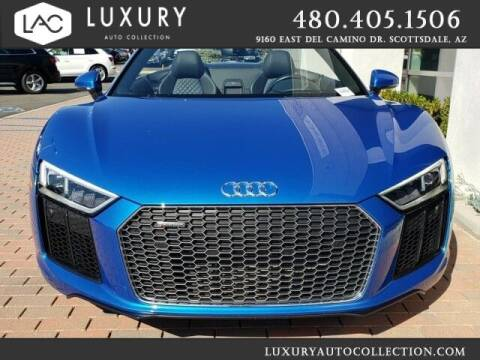 2018 Audi R8 for sale at Luxury Auto Collection in Scottsdale AZ
