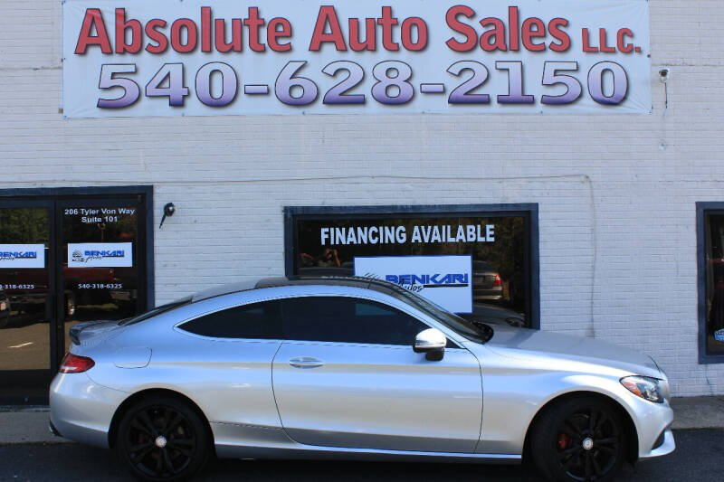 2017 Mercedes-Benz C-Class for sale at Absolute Auto Sales in Fredericksburg VA