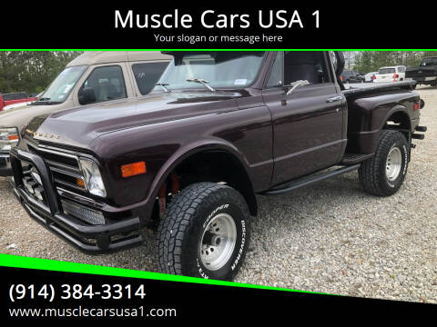 1967 Chevrolet C/K 10 Series for sale at Muscle Cars USA 1 in Murrells Inlet SC