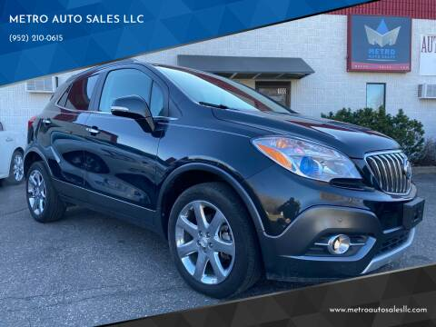2016 Buick Encore for sale at METRO AUTO SALES LLC in Blaine MN