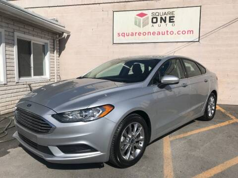 2017 Ford Fusion for sale at SQUARE ONE AUTO LLC in Murray UT