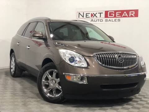 2010 Buick Enclave for sale at Next Gear Auto Sales in Westfield IN