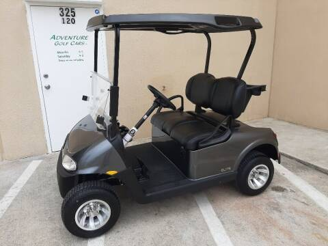2021 E-Z-GO RXV Elite for sale at ADVENTURE GOLF CARS in Southlake TX