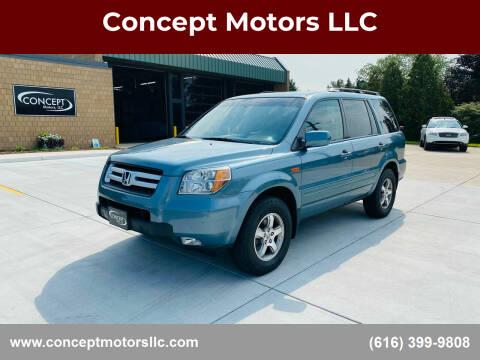 2006 Honda Pilot for sale at Concept Motors LLC in Holland MI