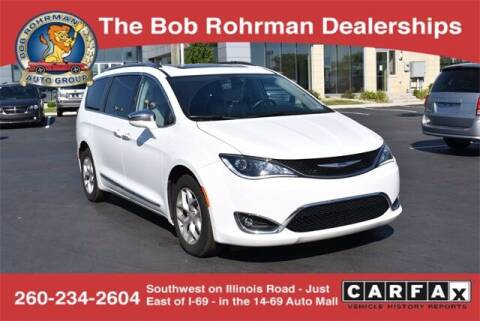 2020 Chrysler Pacifica for sale at BOB ROHRMAN FORT WAYNE TOYOTA in Fort Wayne IN