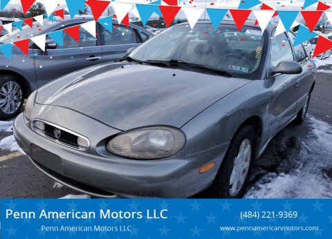 1999 Mercury Sable for sale at Penn American Motors LLC in Allentown PA