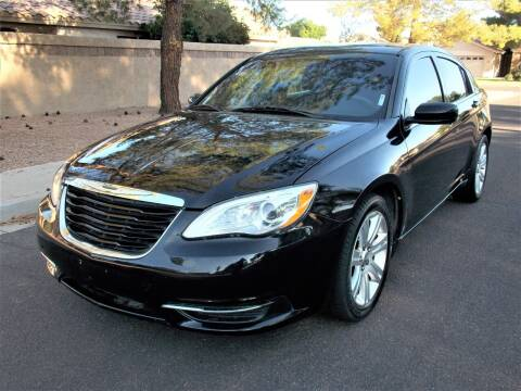 2013 Chrysler 200 for sale at Allstate Auto Sales in Mesa AZ