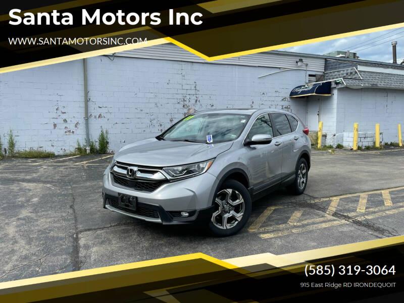 2017 Honda CR-V for sale at Santa Motors Inc in Rochester NY