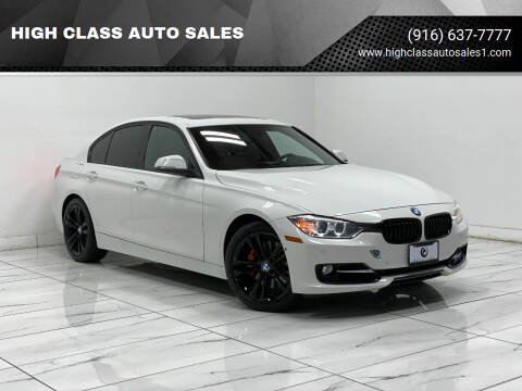 2013 BMW 3 Series for sale at HIGH CLASS AUTO SALES in Rancho Cordova CA