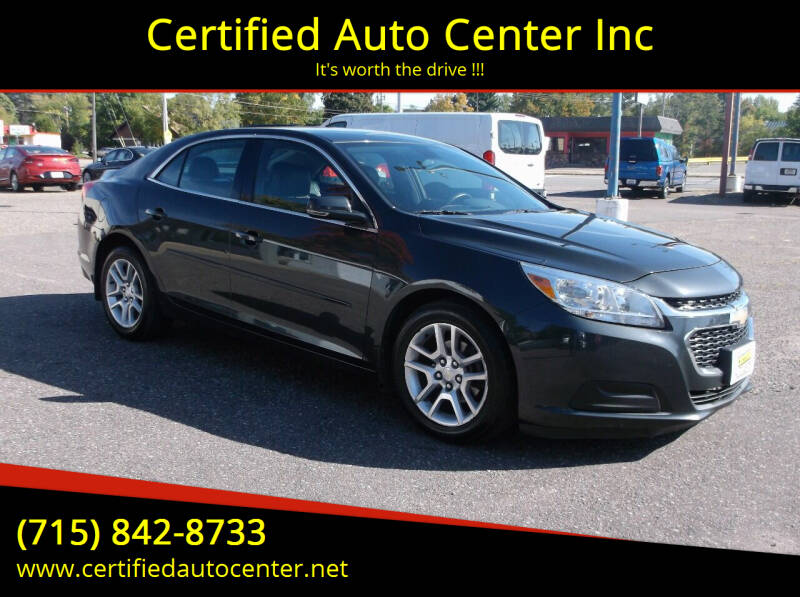 2014 Chevrolet Malibu for sale at Certified Auto Center Inc in Wausau WI