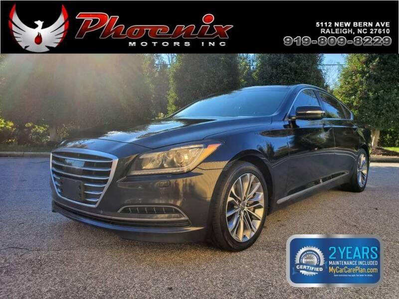 2015 Hyundai Genesis for sale at Phoenix Motors Inc in Raleigh NC