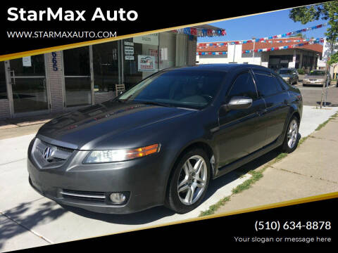 2008 Acura TL for sale at StarMax Auto in Fremont CA