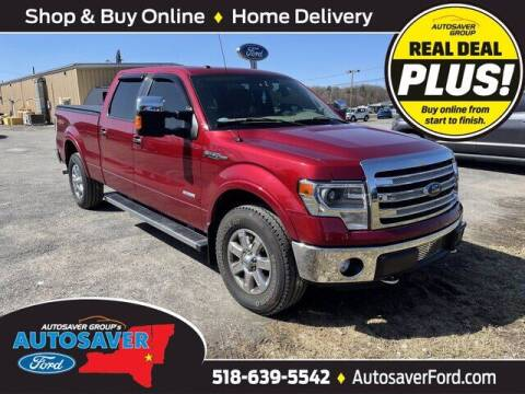 2013 Ford F-150 for sale at Autosaver Ford in Comstock NY