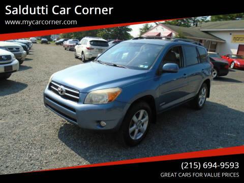 2007 Toyota RAV4 for sale at Saldutti Car Corner in Gilbertsville PA
