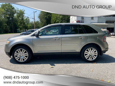 2008 Ford Edge for sale at DND AUTO GROUP in Belvidere NJ